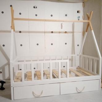 Кровать-вигвам для малышей