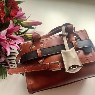 Авторская кожаная сумка