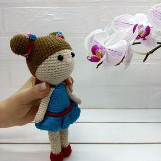 Мягкая игрушка кукла балерина