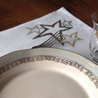 Салфетки под тарелки Новогодние'
