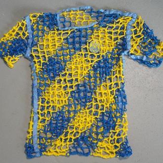 Футболка для болельщиков сборной Украины 52-54 размер
