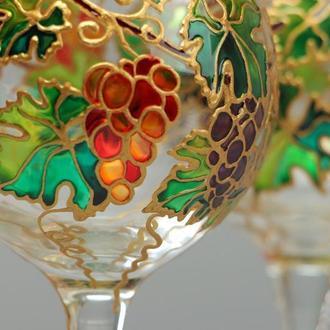 Бокалы для вина «Виноградная лоза»