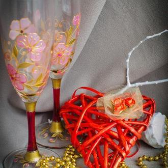 Бокалы для шампанского Романтическое свидание
