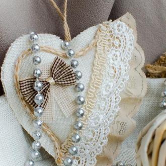 Сердце винтажное