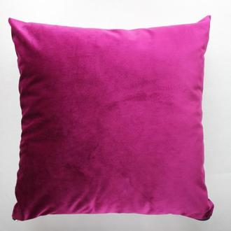 Велюровая наволочка для декоративной подушки, в наличии 1 шт