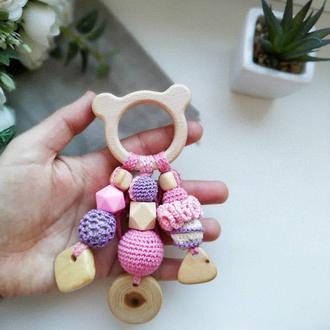 Грызунок, погремушка, развивающая игрушка