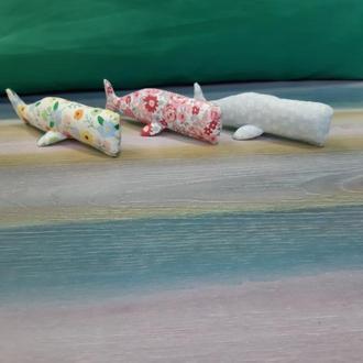 Кит текстильный маленький