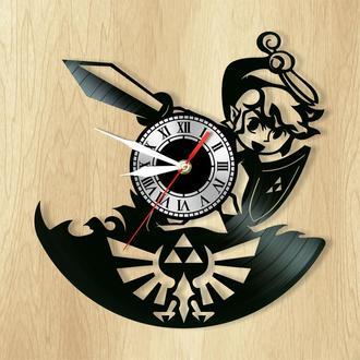 """Настенные часы """"Zelda"""" - классный подарок для себя и своих близких."""