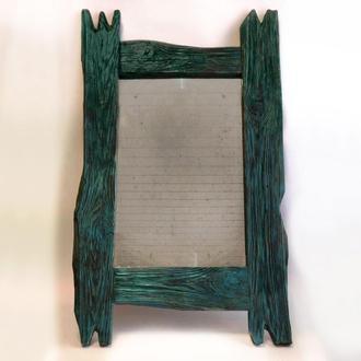 Винтажное состаренное зеркало 59х80см