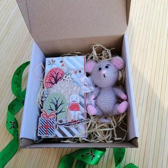 Мышка. Подарочный набор.Мышонок.