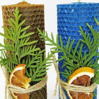 Свечи натуральные декоративные, для дома и декора, оригинальный подарок маме девушке бабушке подруге