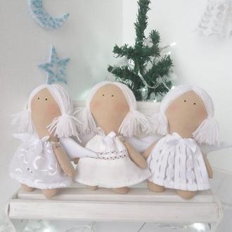 Куколка Ангелочек, текстильная игрушка.