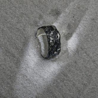 Фактурное мужское кольцо Кора дерева