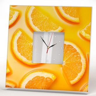 "Симльные часы на кухню ""Цитрусы"""
