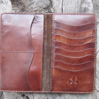 кожаные кошельки,именной кожаный кошелек,бумажники мужские кожаные,именные подарки мужчине