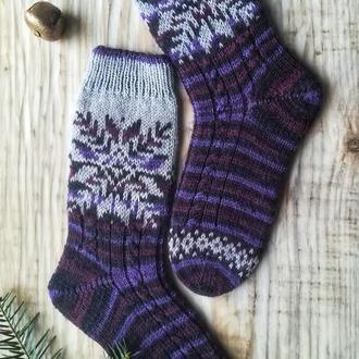 Теплые носки унисекс