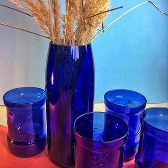 Комплект для дома (4 стаканы и ваза)