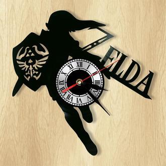 """Настенные часы """"Zelda"""" - оригинальный подарок для себя и своих близких."""