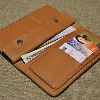 Кожаное портмоне K06-200