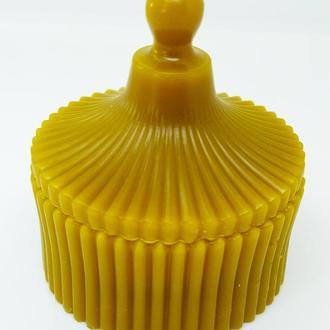 Свеча натуральная из пчелиного воска, Медова свічка з бджолиного воску