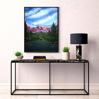 "Картина ""Mountain Landscape"""