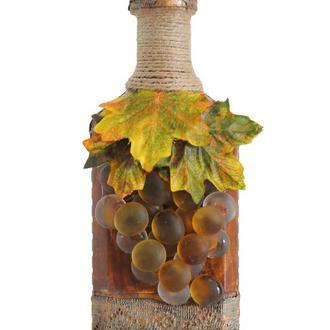 """Декорированная сувенирная бутылка """"Осень"""""""
