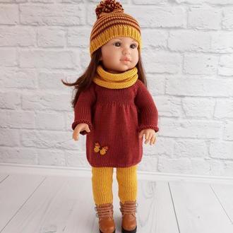 В'язана одяг на ляльку Паола Рейну 40 см, подарунок дівчинці