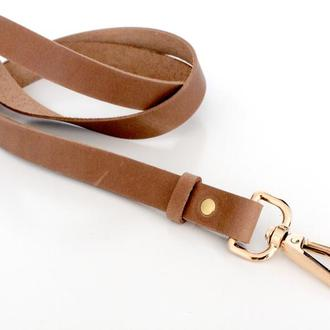 Кожаный брелок для ключей, ID