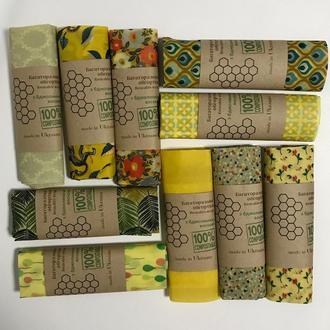 Упаковка для продуктов, багаторазова серветка обгортка, екопакування, вощені серветки