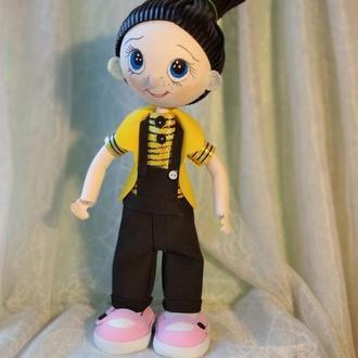 """кукла  из фоамирана """"Мальчик"""""""