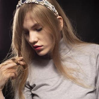 """Сутажный ободок для волос """"Адриана"""""""
