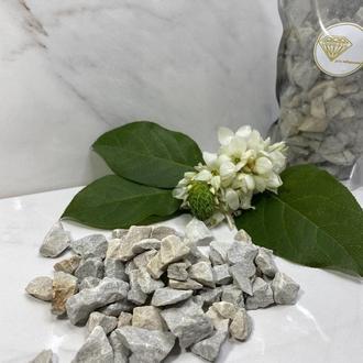 Мраморная крошка, каменная, разных размеров
