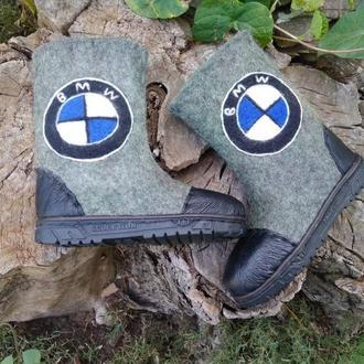 Детские валенки BMW
