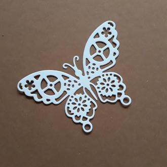вырубка ′Бабочка- стимпанк′, декор для скрапбукинга, высечки