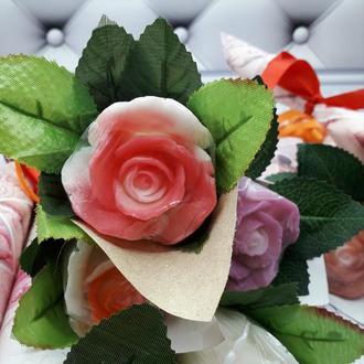 Мыло - Мраморная роза
