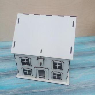 Скарбничка - будинок, сувенір для молодят. Свадебная казна.