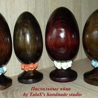 Пасхальные яйца на ножке-подставке 14 см