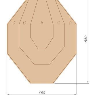 Комплект Мишени IPSC (300 шт)