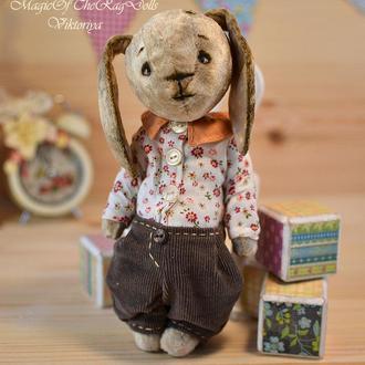 Плюшевый Тедди зайчик.
