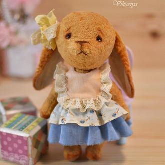 Плюшевая Тедди зайка.