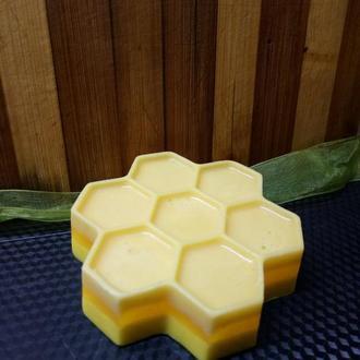 Мыло натуральное медовое