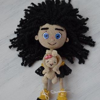 Кукла Малинка ручної роботи