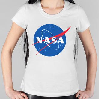 """Жіноча футболка Pish It з написом """"NASA"""""""