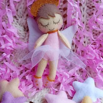 Ангелочек из фетра (2)