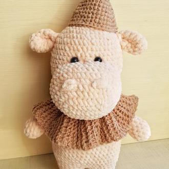 Бегемот, плюшевая игрушка