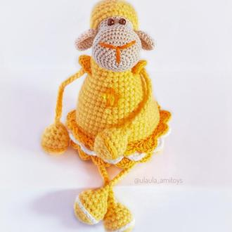 Іграшка Овечка (жовта)