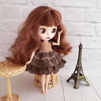 Одежда на куклу Блайз, платье на Блайз, подарок девочке