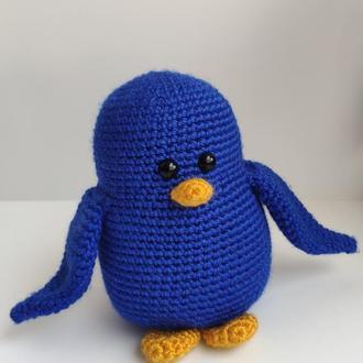 Пингвин вязаный
