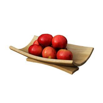Дубовая подставка для фруктов или для хлеба