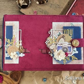 Семейный фотоальбом, фотоальбом для девушки, подарок для девушки, love story, подарок для любимой